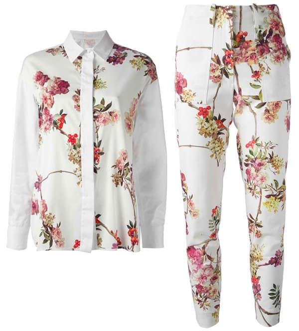 Giambattista Valli Floral Top and Pants