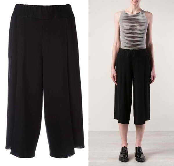Issey Miyake Cropped Trousers