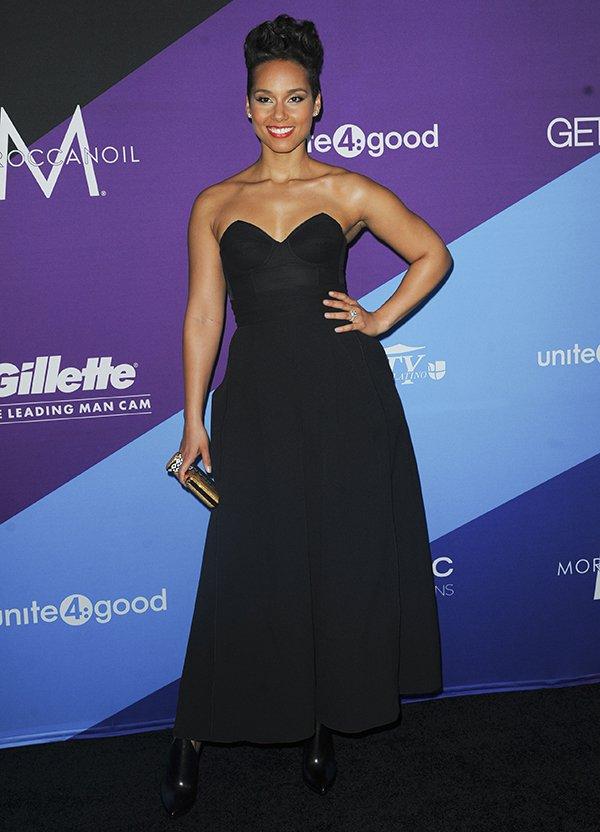 Alicia Keys at unite4:good and Variety's unite4:humanity gala