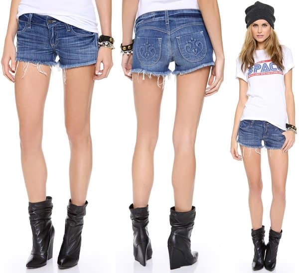 Siwy Camilla Cutoff Shorts in Come Away With Me