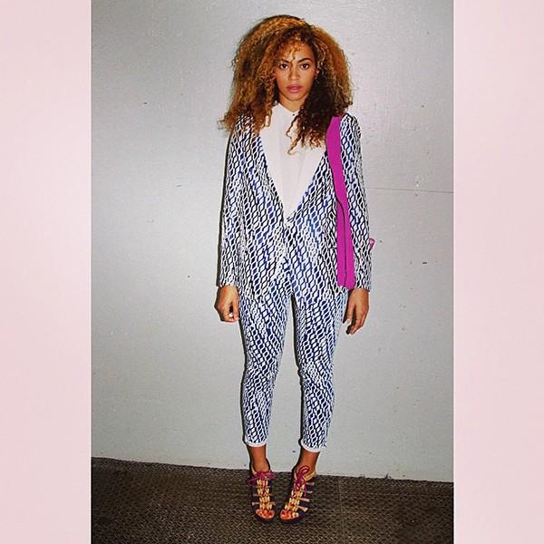 Beyonce  Joe's Jeans Jacket and Pants