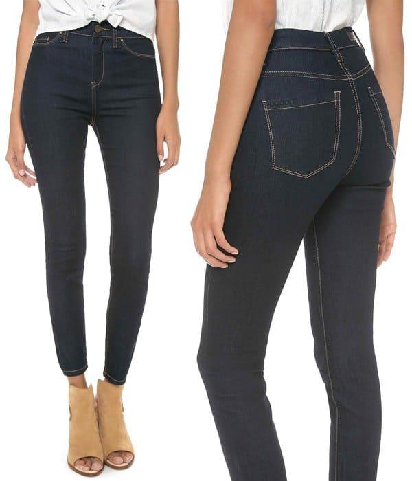 Blank Denim High Rise Skinny Jeans