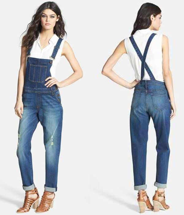 Edyson Destroyed Overalls