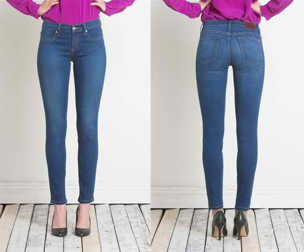 Henry and Belle Super Skinny Ankle Jeans