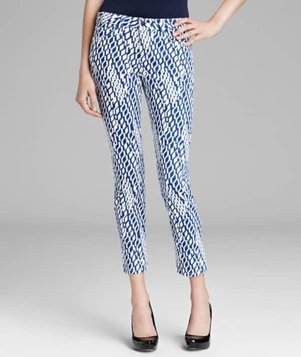 Joe's Jeans High Water Skinny in Geometric Pants