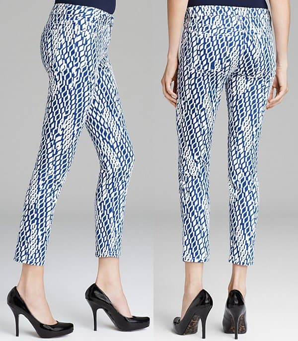 Joe's Jeans High Water Skinny in Geometric Pants1