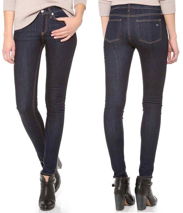 Rag & Bone JEAN High Rise Skinny Jeans
