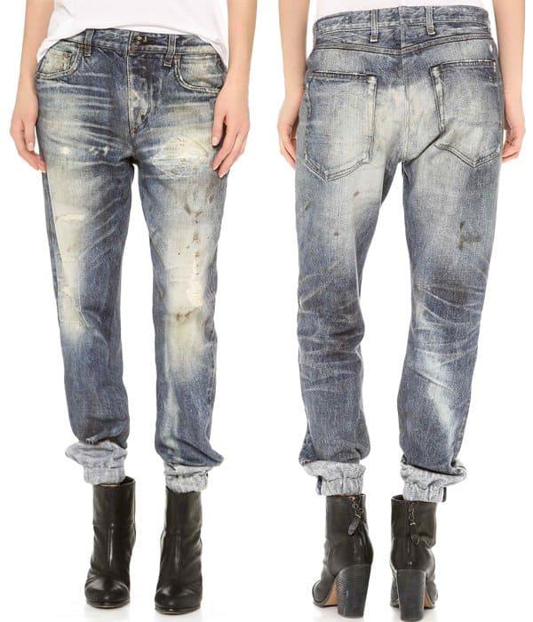 Rag & Bone JEAN Pajama Jeans in Maramar