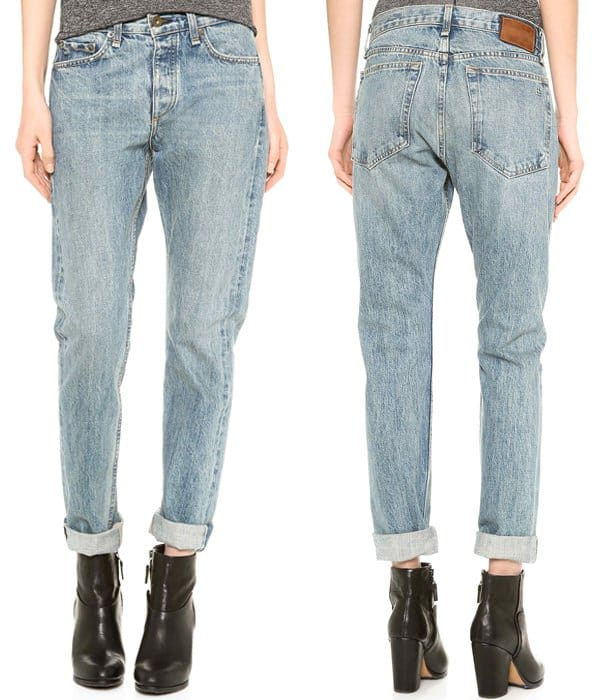 Rag & Bone JEAN Tha Marilyn Rigid Jeans