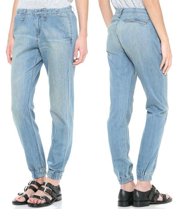 Rag & Bone JEAN The Pajame Jeans Drakes