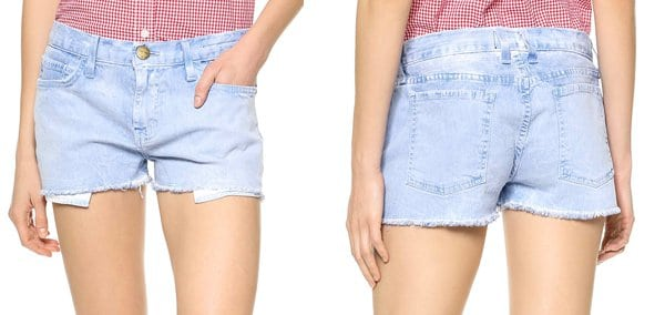 Current Elliott The Boyfriend Shorts