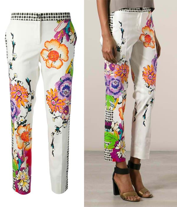 Etro Graphic Print Trousers