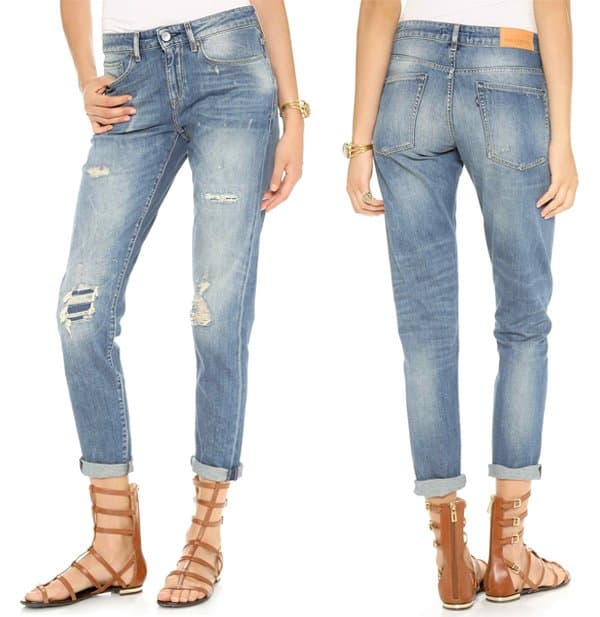 Levis Made & Crafted Marker Tapered Boyfriend Jeans
