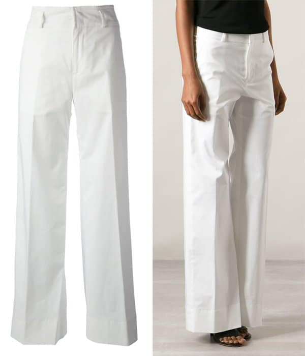 Jil Sander Wide Leg Trousers