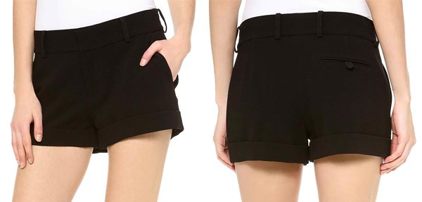 Haute Hippie Tailored Shorts