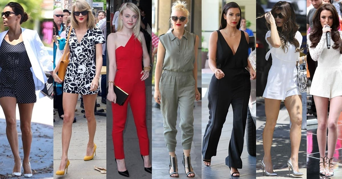 76d5228ea345 What Celebrities Wear With Rompers and Jumpsuits