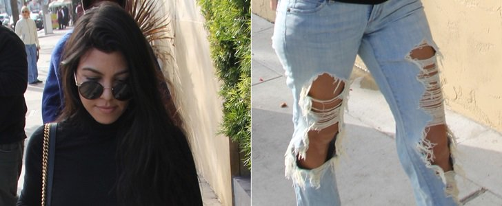Overly Holey Jeans: 16 Stars Wearing Ripped Jeans With Big Holes