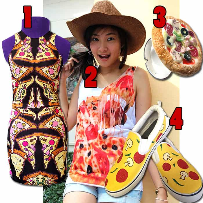 Pizza fashion