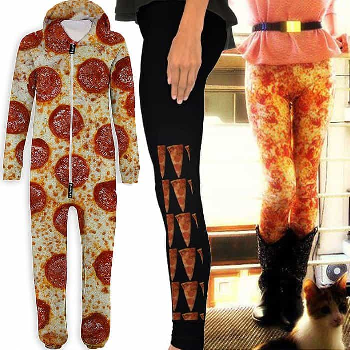 Pizza onesie and pants
