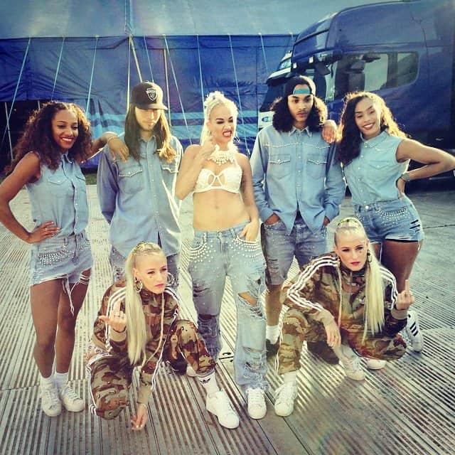 Rita Ora's Instagram snap of her with her crew