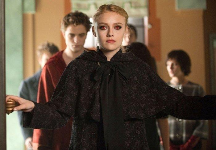 Dakota Fannin was 15-years-old when starring as Jane Volturi in The Twilight Saga: New Moon