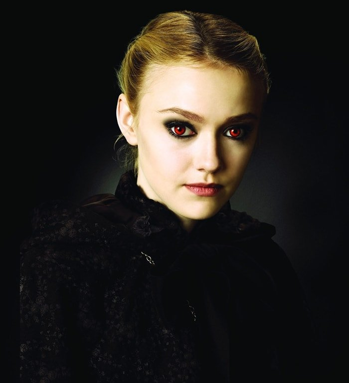 Dakota Fanning portrayed Jane Volturi in The Twilight Saga (2009–2012)