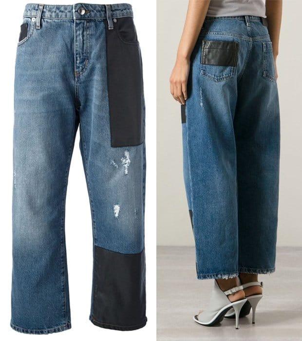 McQ by Alexander McQueen Boyfriend Jeans