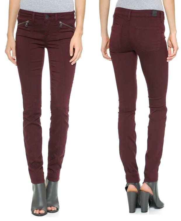 Vince Riley Zip Skinny Jeans