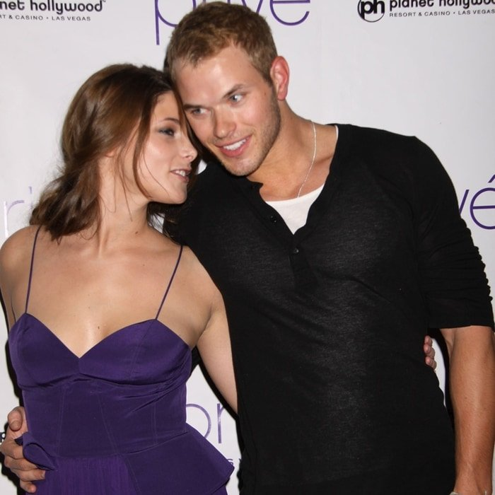 Kellan Lutz and Ashley Greene play adopted siblings in The Twilight Saga