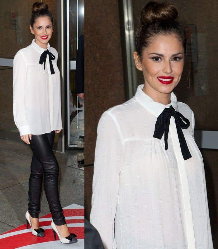 Cheryl Cole attends the ICAP Charity Trading Day in London on December 3, 2014