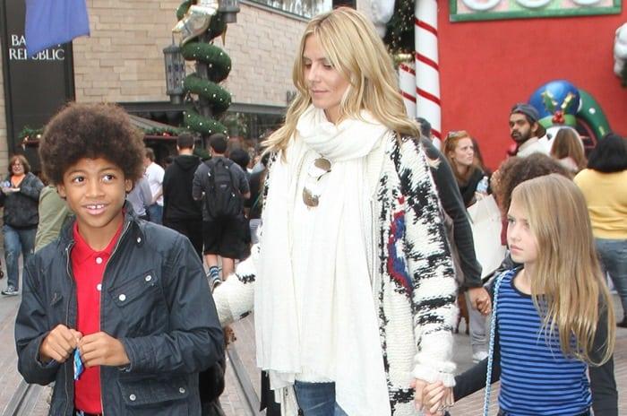 Heidi Klum Christmas