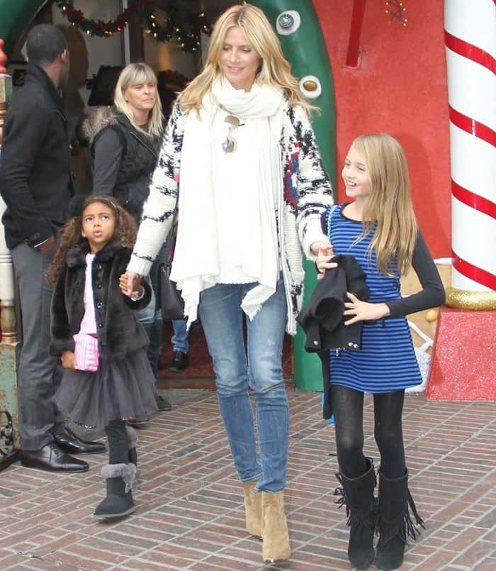 Heidi Klum in Skinny Jeans