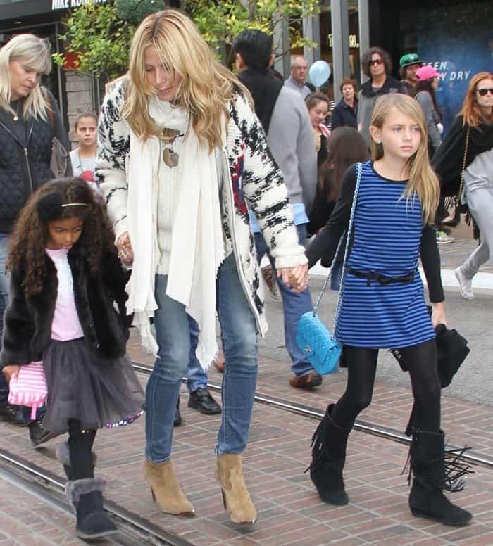 Heidi Klum with Kids