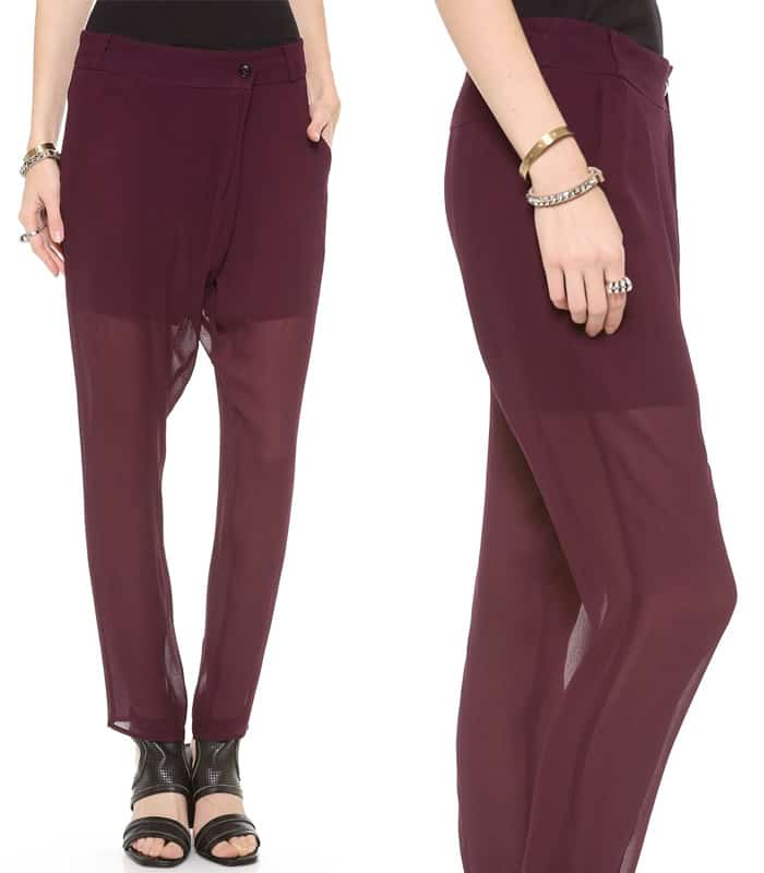 Dagmar Linda Drop Waist Pants