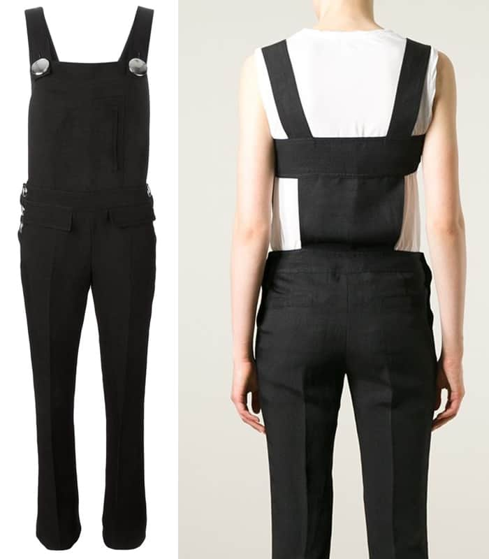 Emilio Pucci Cut Out Detail Dungarees