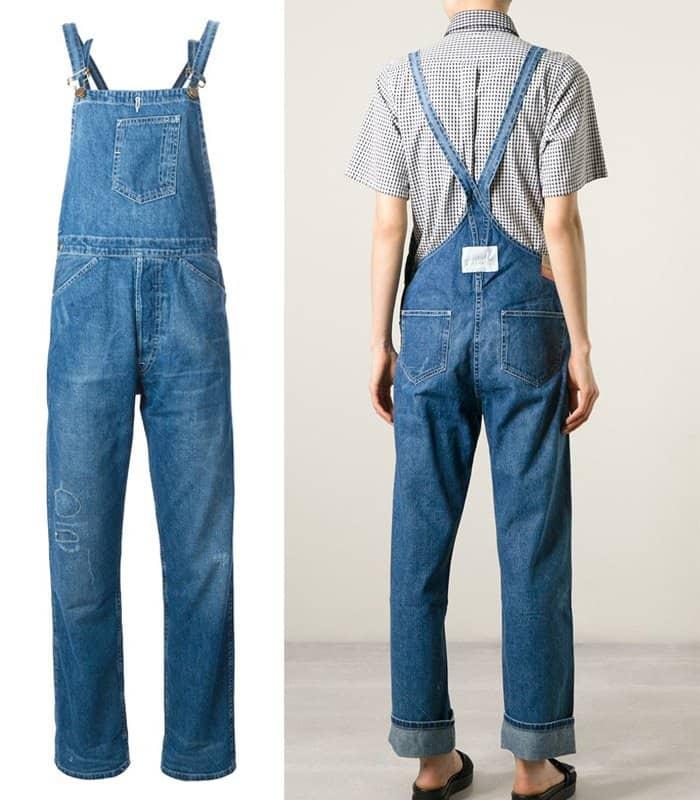 Levis Vintage Clothing Distressed Denim Dungaree