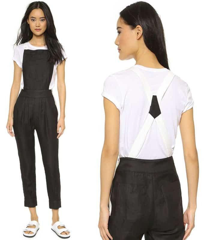 Band of Outsiders Colorblock Overalls