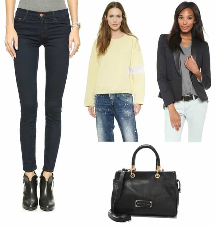 Rosie Huntington Whiteley inspired outfit