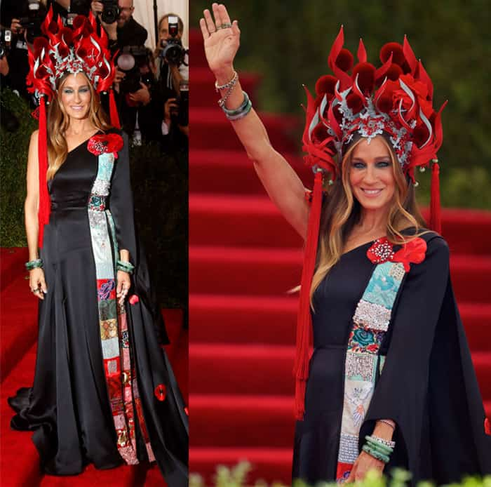 Actress Sarah Jessica Parker attends the 2015 Costume Institute Gala Benefit celebrating the exhibition China: Through The Looking Glass at The Metropolitan Museum of Art