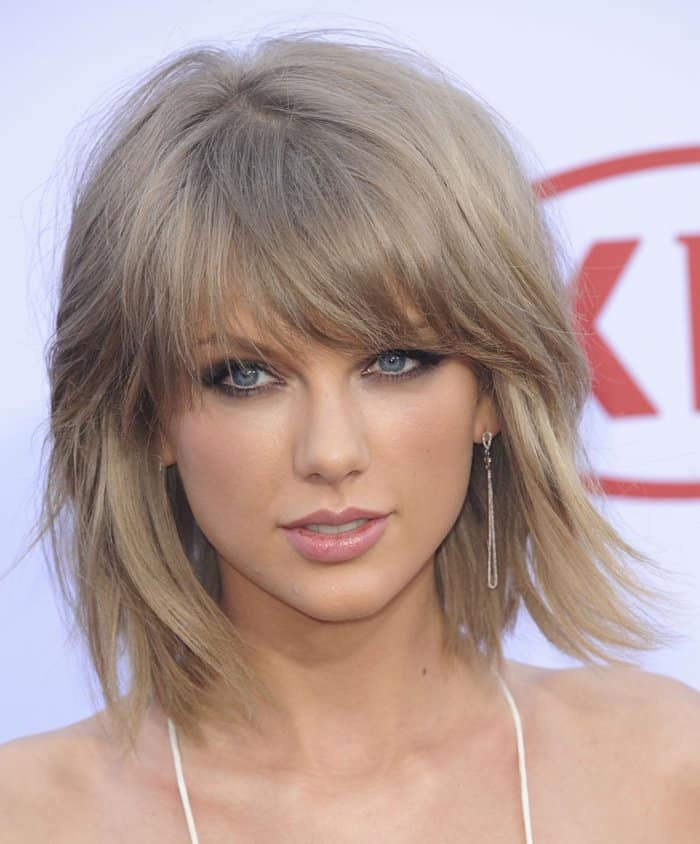 Taylor Swift at the 2015 Billboard Music Awards Arrivals at MGM Grand Garden Arena in Las Vegas on May 17, 2015