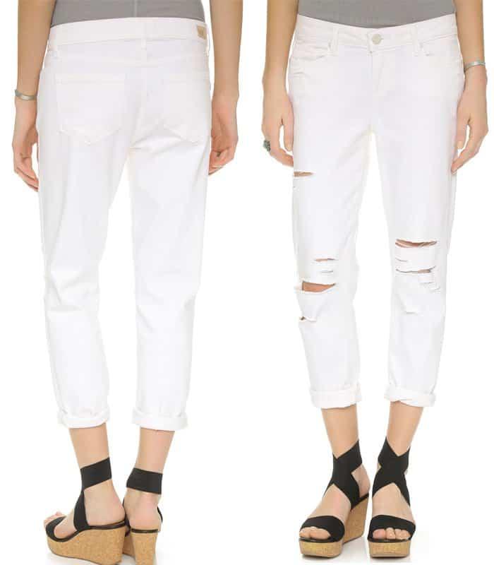 Paige Denim Jimmy Jimmy Crop Jeans