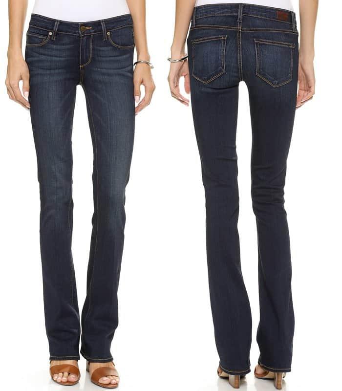 Paige Denim Transcend Manhattan Bootcut Jeans
