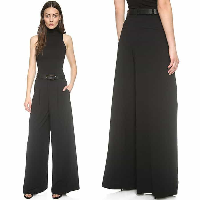 Alice + Olivia High Waist Double Pleat Pants