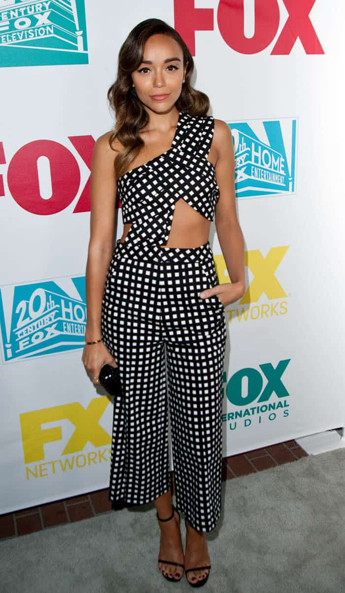 Ashley Madekwe attends the Comic-Con International 2015 - 20th Century Fox Party at Andaz Hotel on July 10, 2015 in San Diego, California