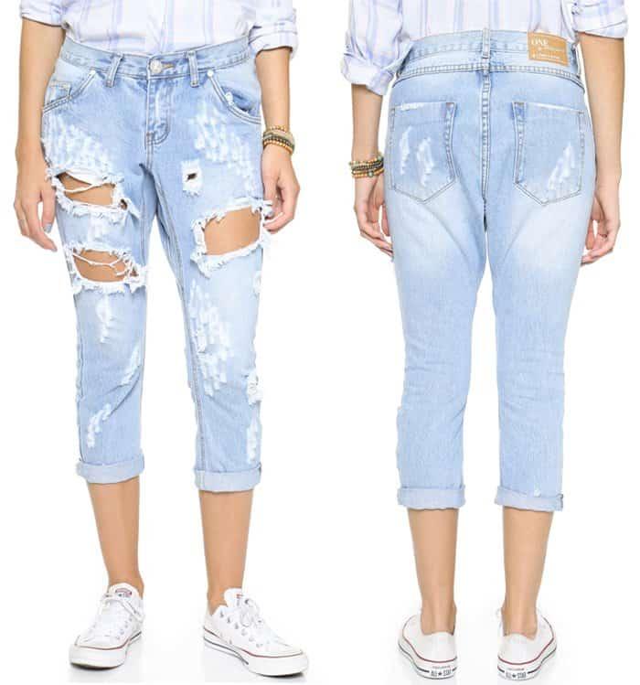 One Teaspoon Hustler Lonely Boys Jeans