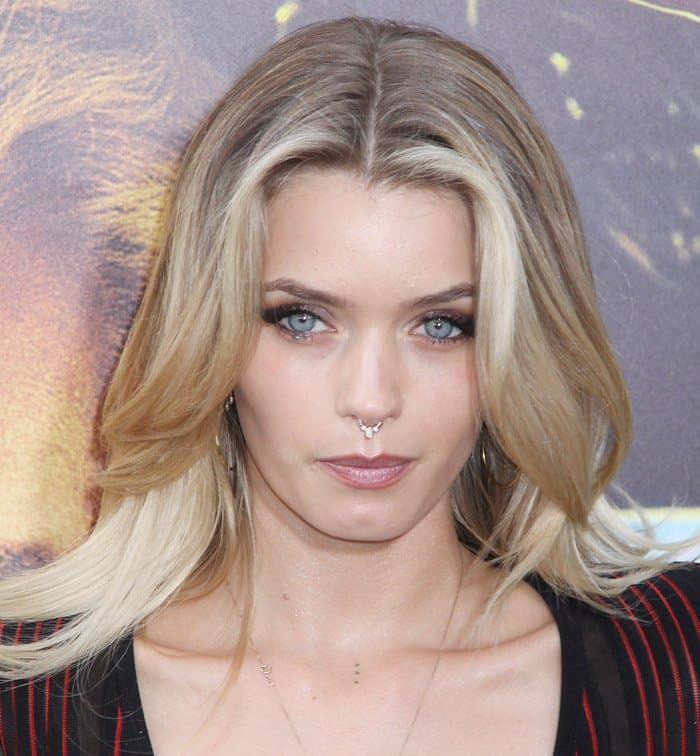 Abbey Lee Kershaw at the premiere of 'Mad Max: Fury Road' – Arrivals in Los Angeles on May 8, 2015