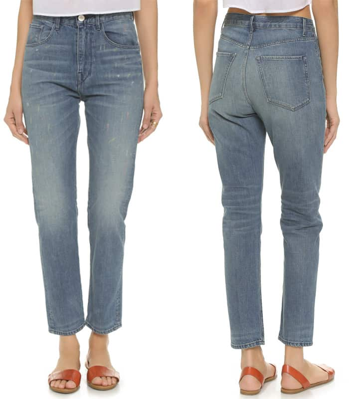 3x1 Cropped Boyfriend Jeans