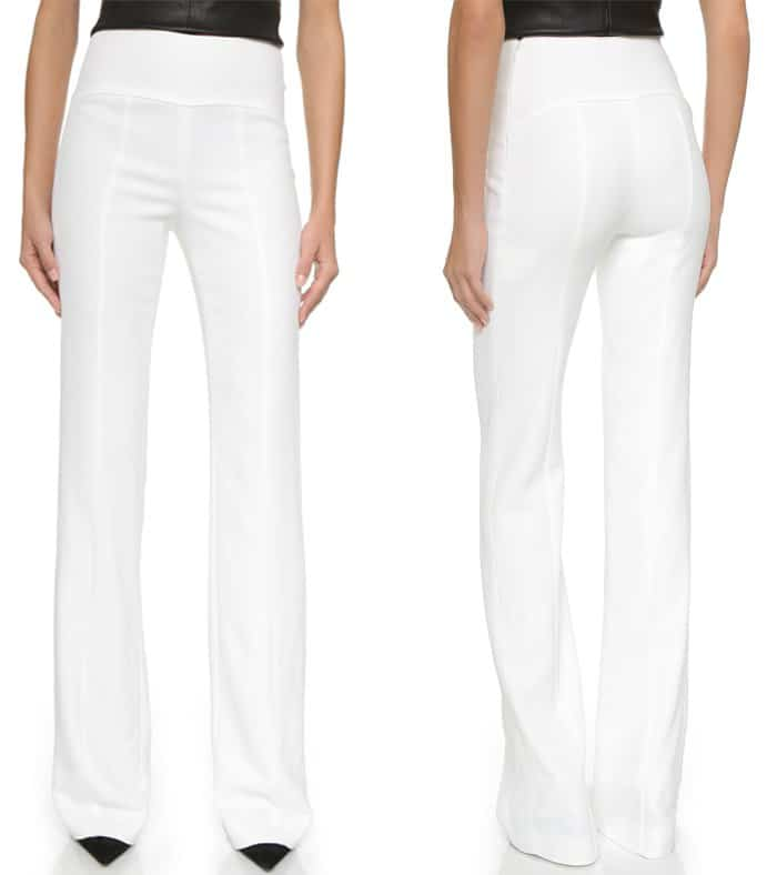 Narciso Rodriguez High Rise Pants