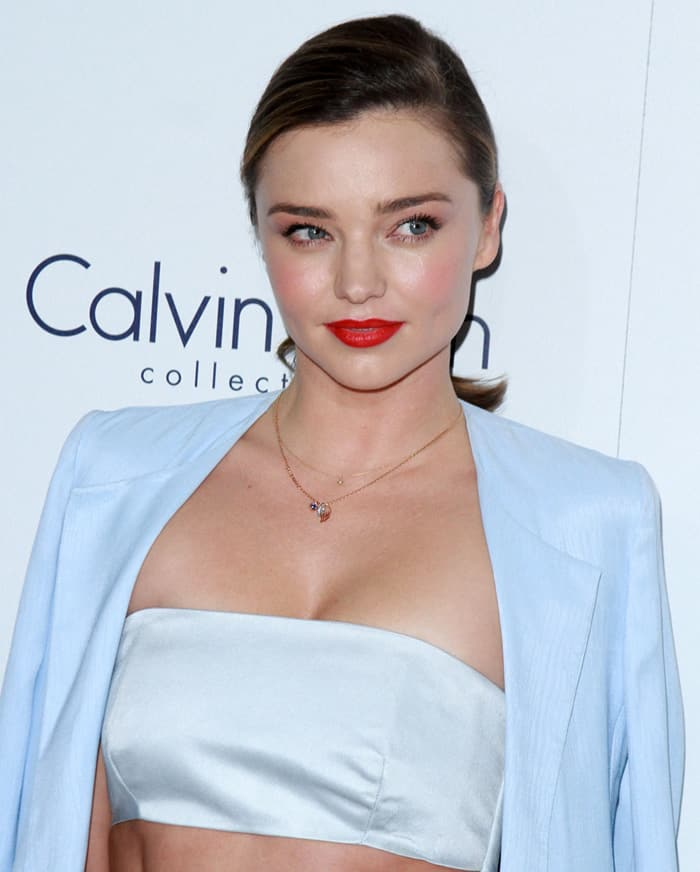 Miranda Kerr at the 22nd Annual ELLE Women in Hollywood Awards in Los Angeles on October 19, 2015