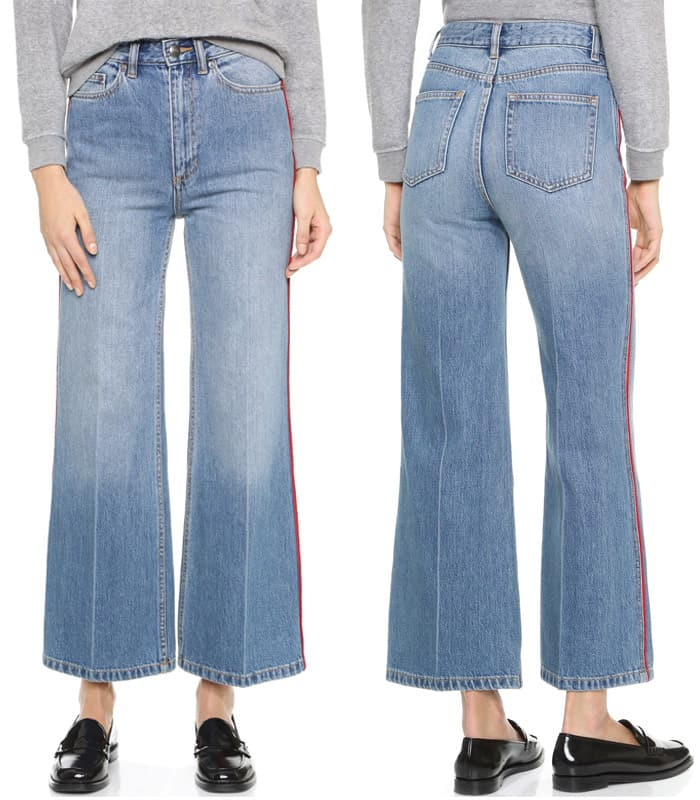 Marc by Marc Jacobs Crop Wide Leg Jeans